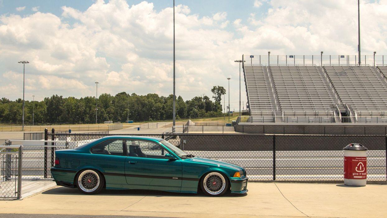 cars BMW E36 wallpaper