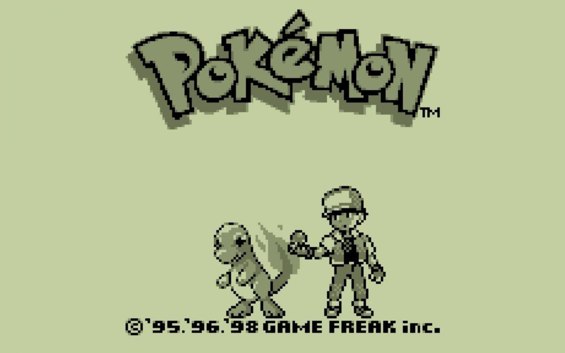 Pokemon video games monochrome Charmander wallpaper
