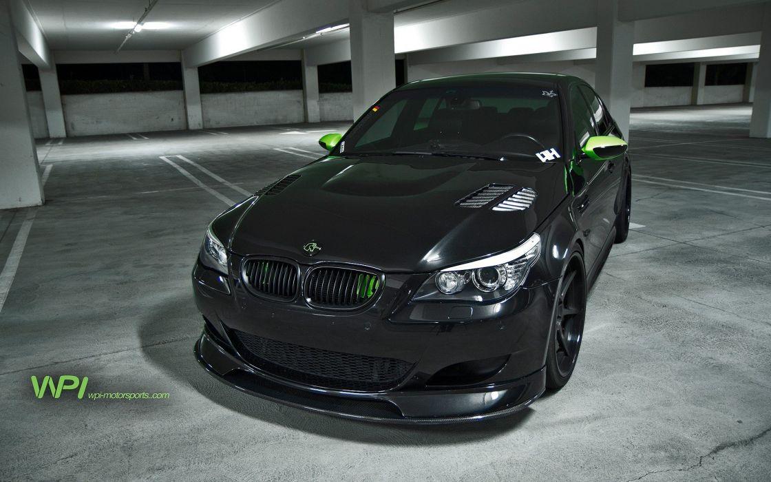 Black Cars Parking Vehicles Tuning Wheels Bmw M5 Sports Luxury Sport E60 Sd
