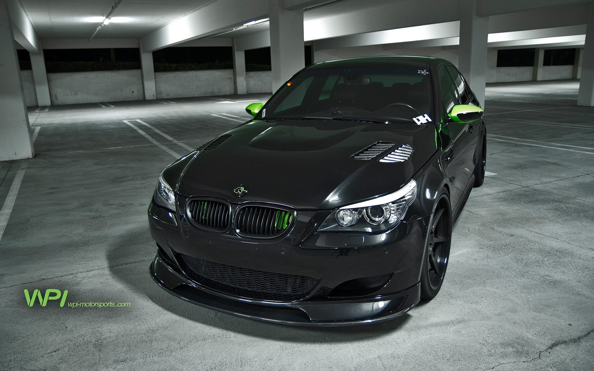 Luxury Sports Cars >> Black cars parking vehicles tuning wheels BMW M5 sports cars luxury sport cars BMW E60 speed ...