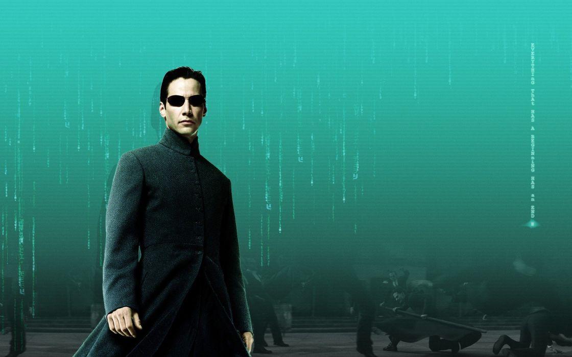 video games Neo The Matrix Keanu Reeves the matrix reloaded Matrix Reloaded wallpaper