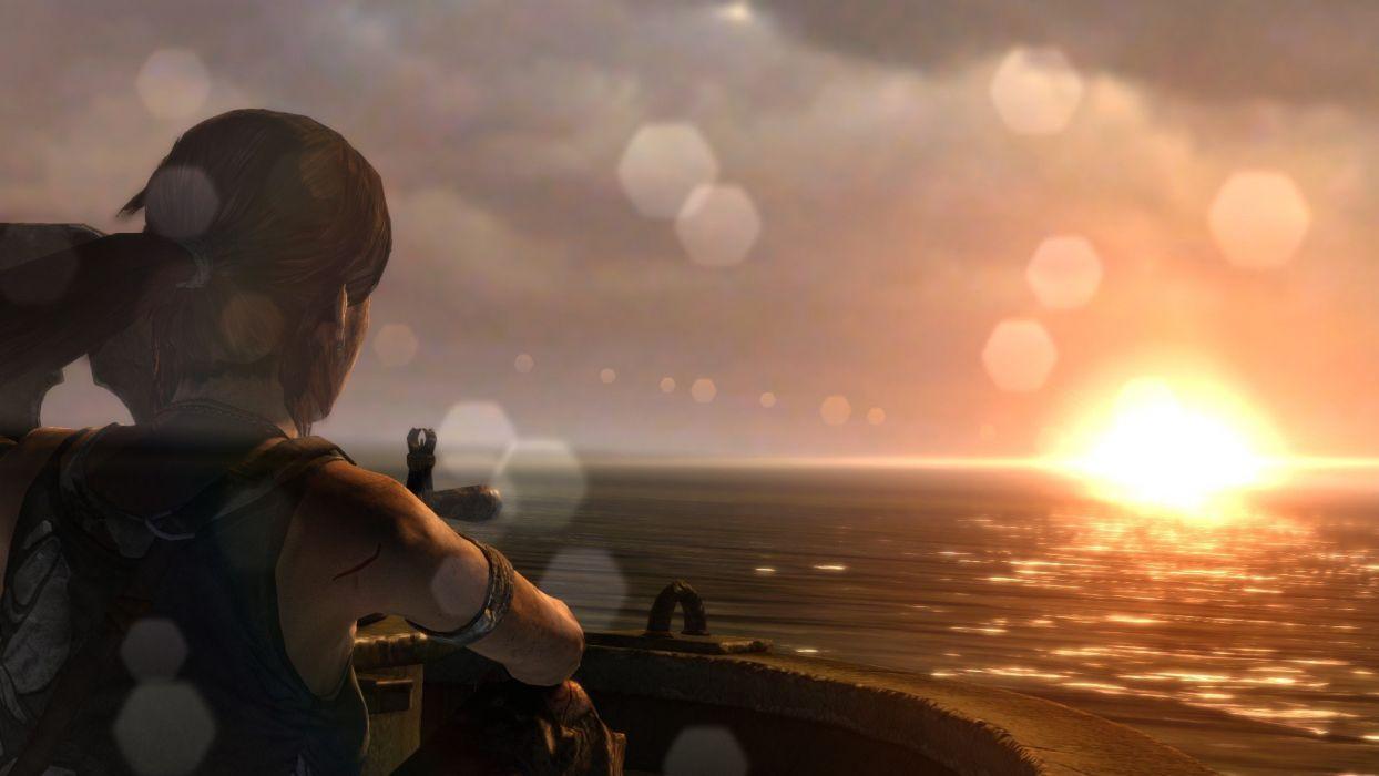 Tomb Raider Lara Croft screenshots Xbox 360 Tomb Raider 2012 wallpaper