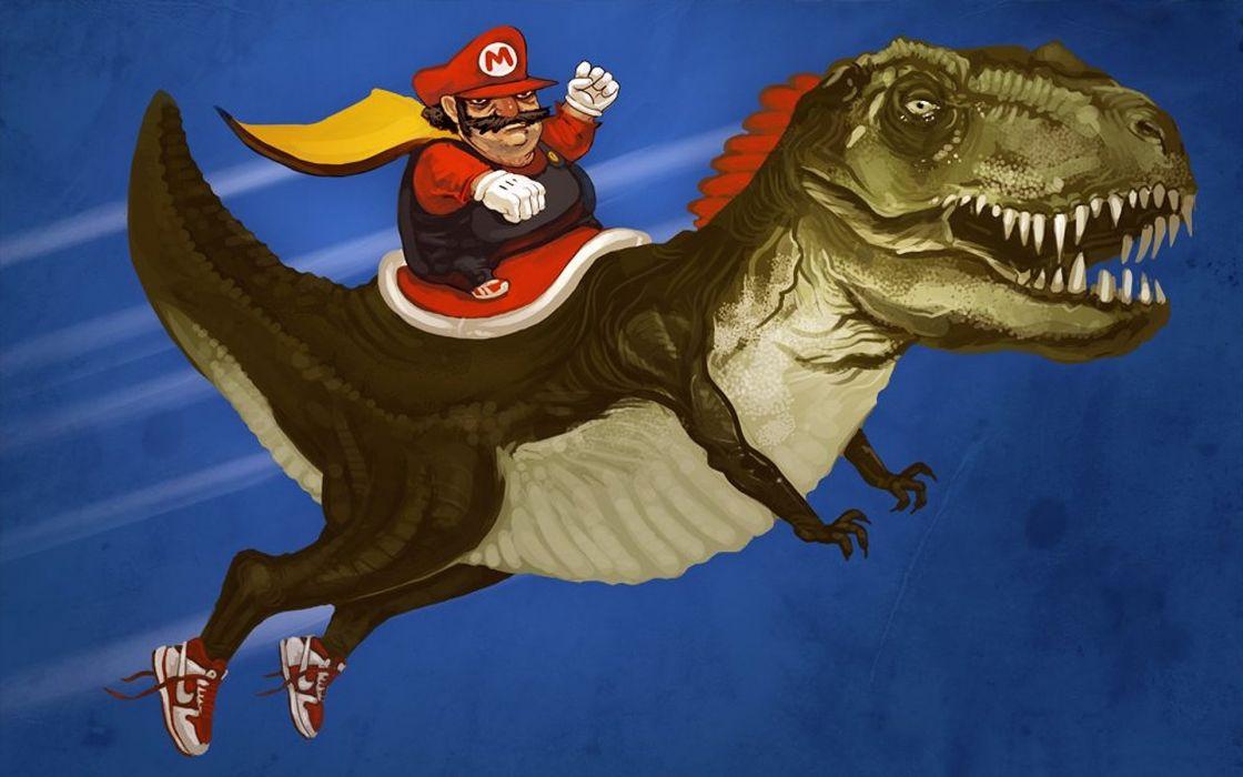 Mario Yoshi wallpaper
