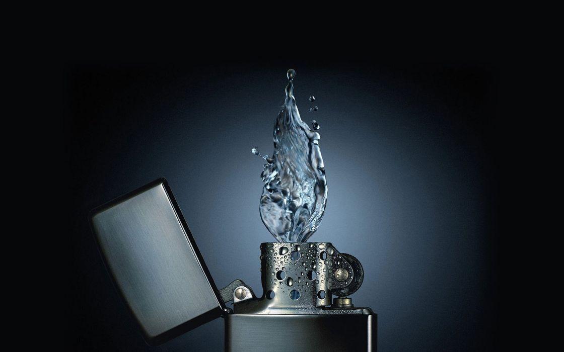 water Zippo wallpaper