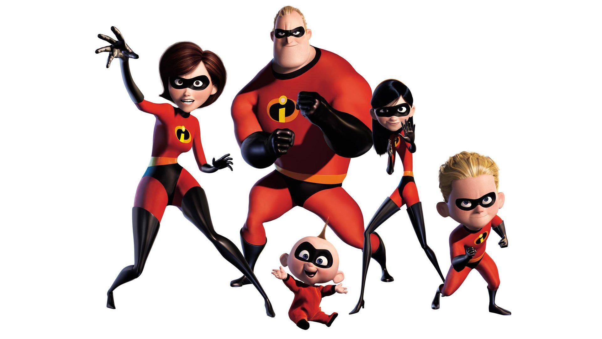 pixar redheads superheroes masks the incredibles elastigirl