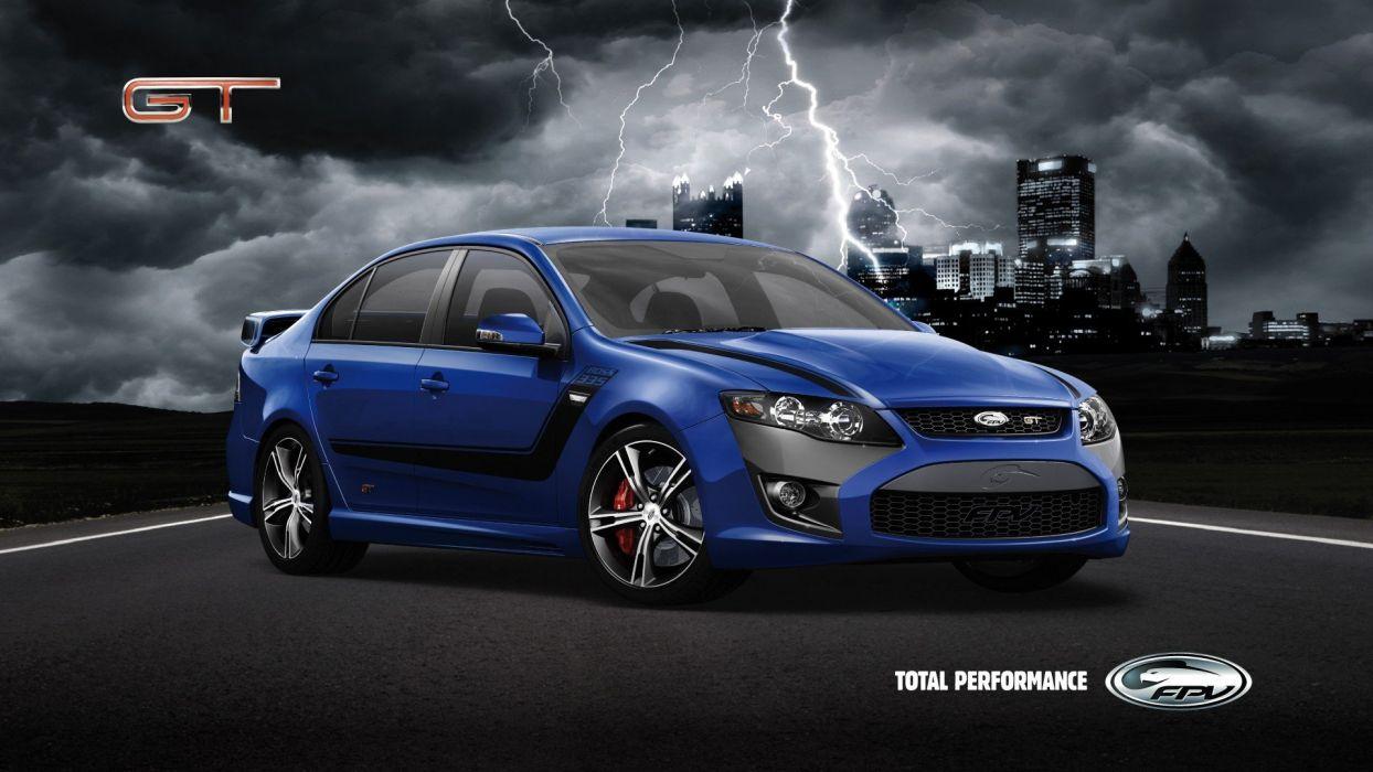 cars vehicles FPV sports cars Aussie Muscle Car Ford Australia wallpaper