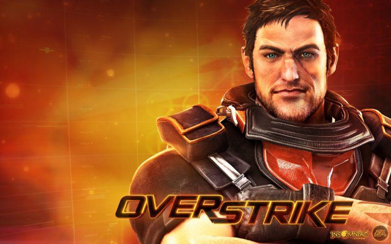 video games widescreen OverStrike wallpaper
