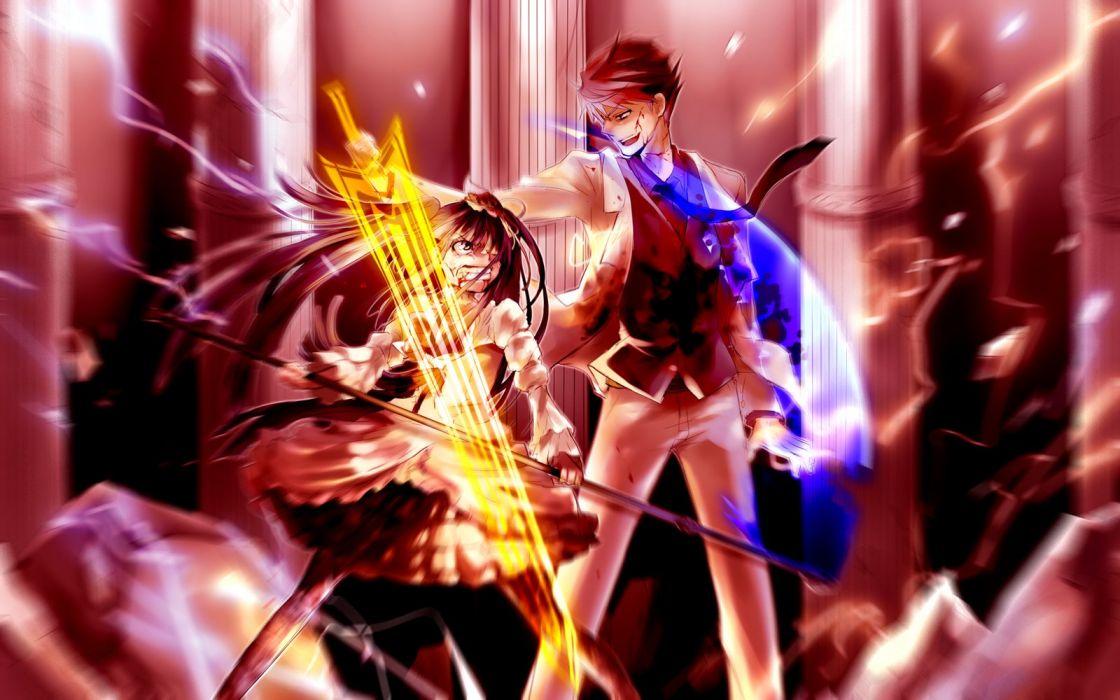 Umineko no Naku Koro ni Ushiromiya Battler Furudo Erika wallpaper