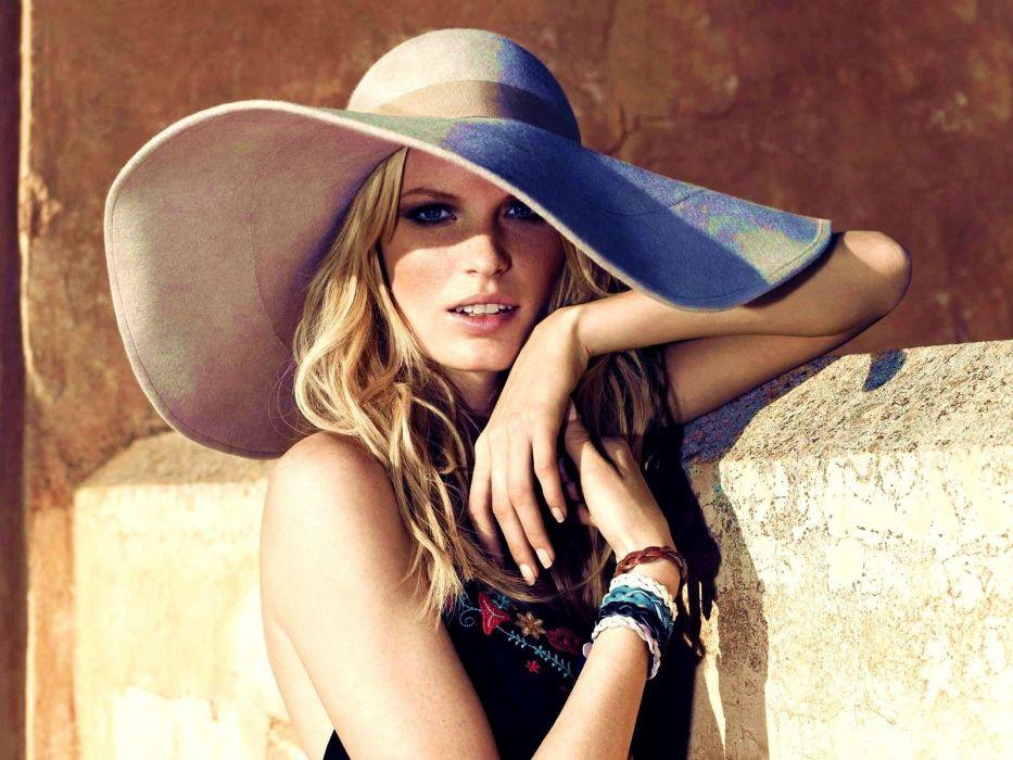 women models hats wallpaper