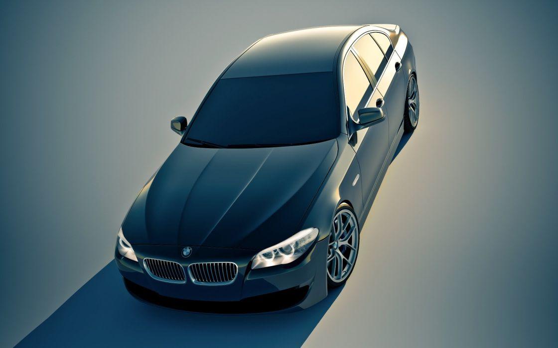 BMW cars concept cars gradient F10 wallpaper