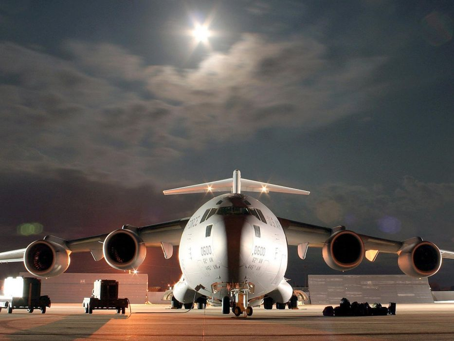 aircraft military United States Air Force C-17 Globemaster wallpaper