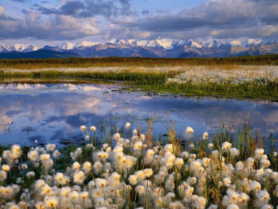 landscapes nature Alaska National Park wallpaper