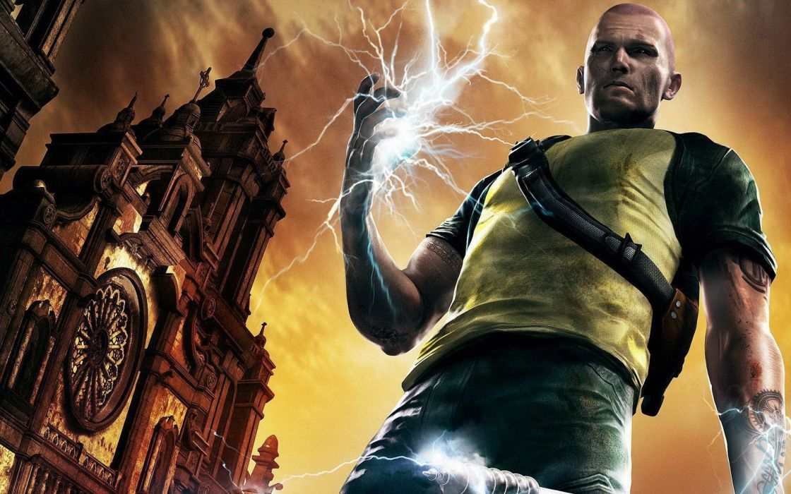 video games Infamous 2 games wallpaper