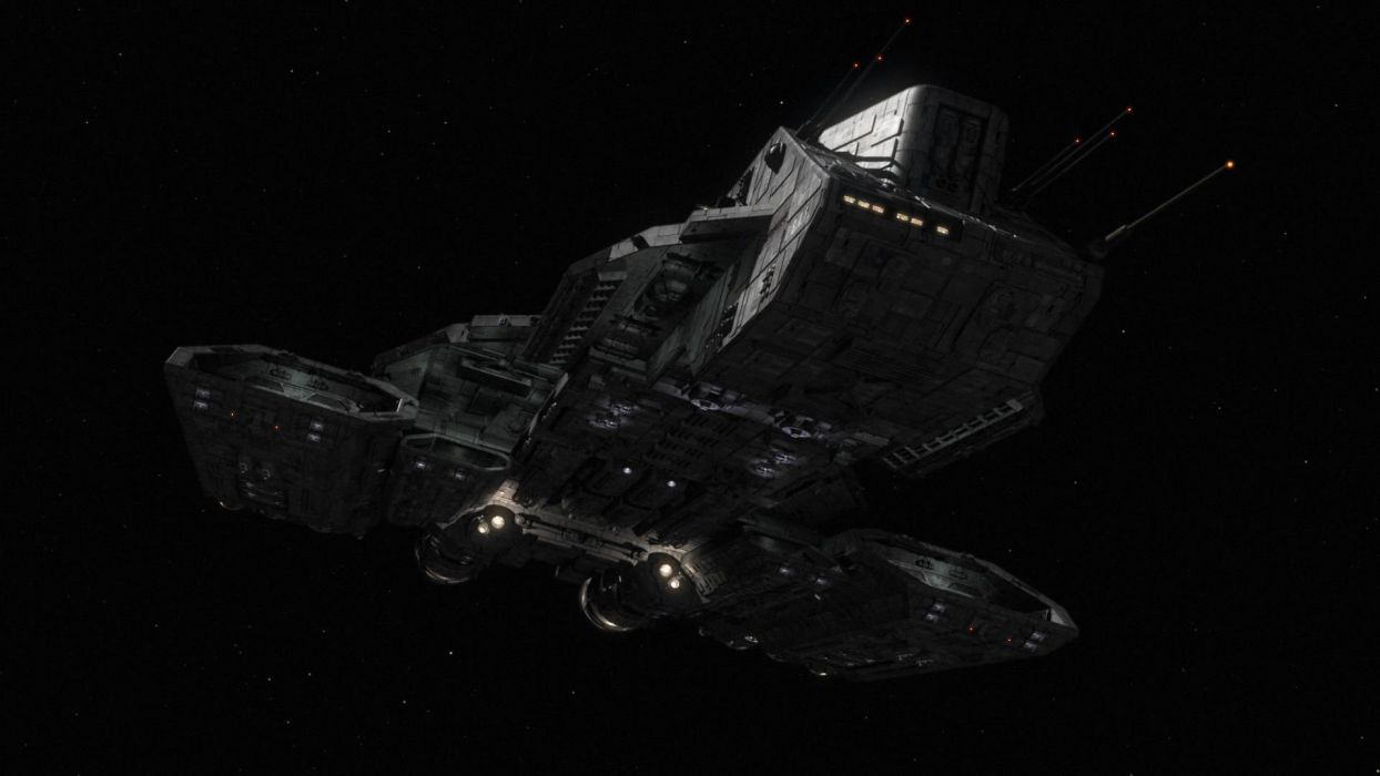 Stargate spaceships vehicles Daedalus Stargate Atlantis wallpaper