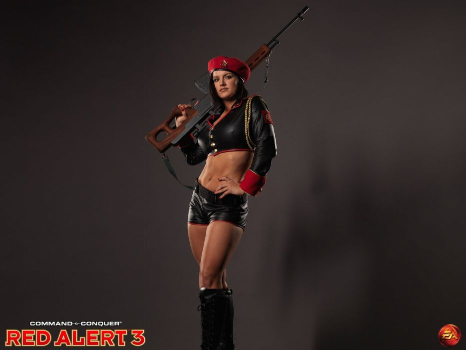 movies Red Alert Gina Carano Natasha characters wallpaper