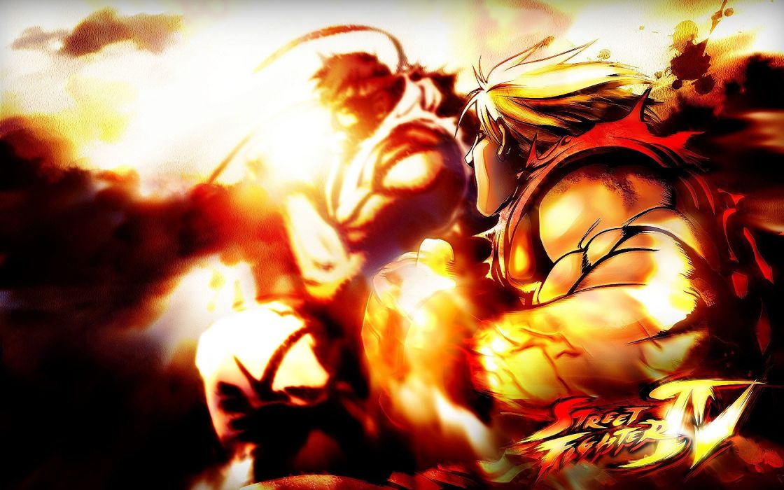 Video Games Street Fighter Ryu Street Fighter Iv Ken Masters