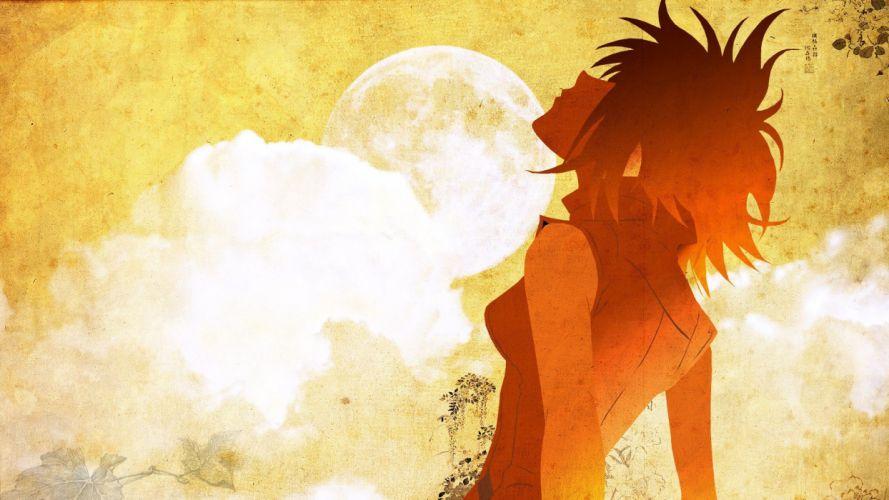 FLCL Fooly Cooly Moon Haruhara Haruko wallpaper