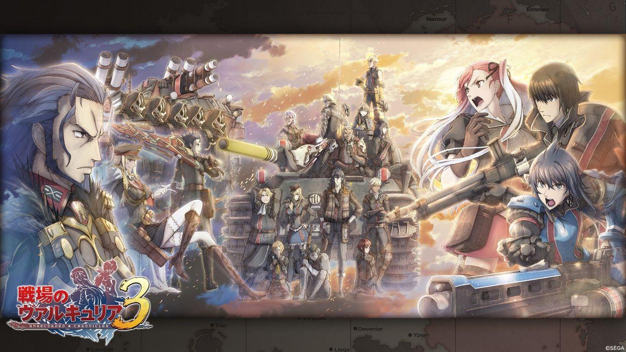 Valkyria Chronicles wallpaper