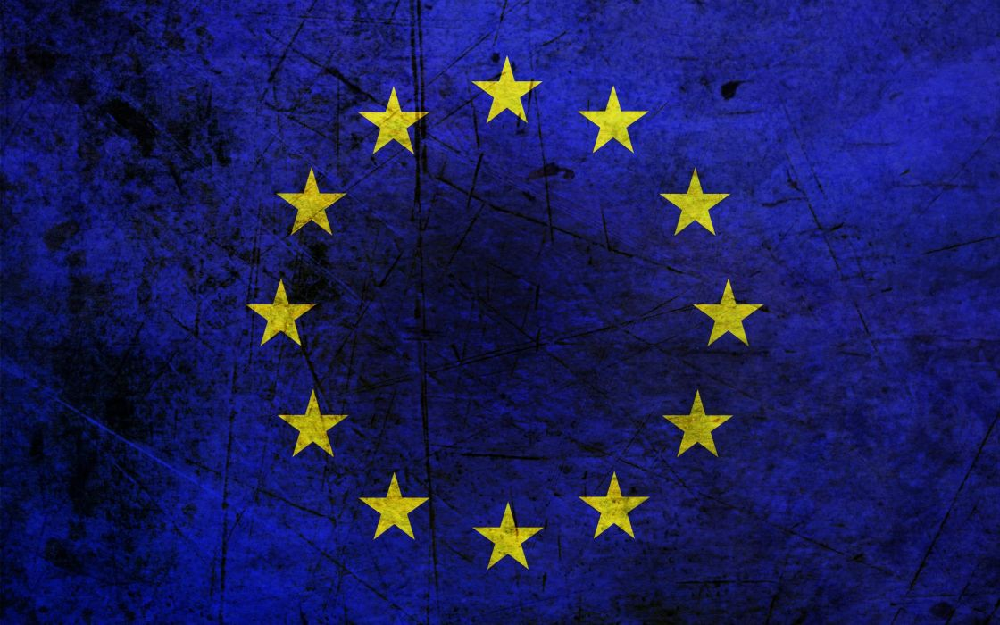flags European Union wallpaper
