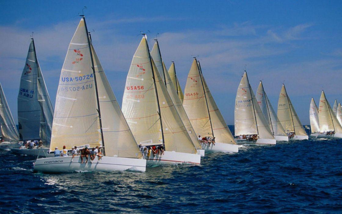 ocean ships sail ship sails wallpaper
