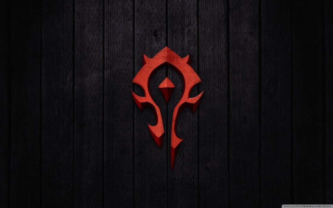 world of warcraft  horde sign-wallpaper-2560x1600 wallpaper