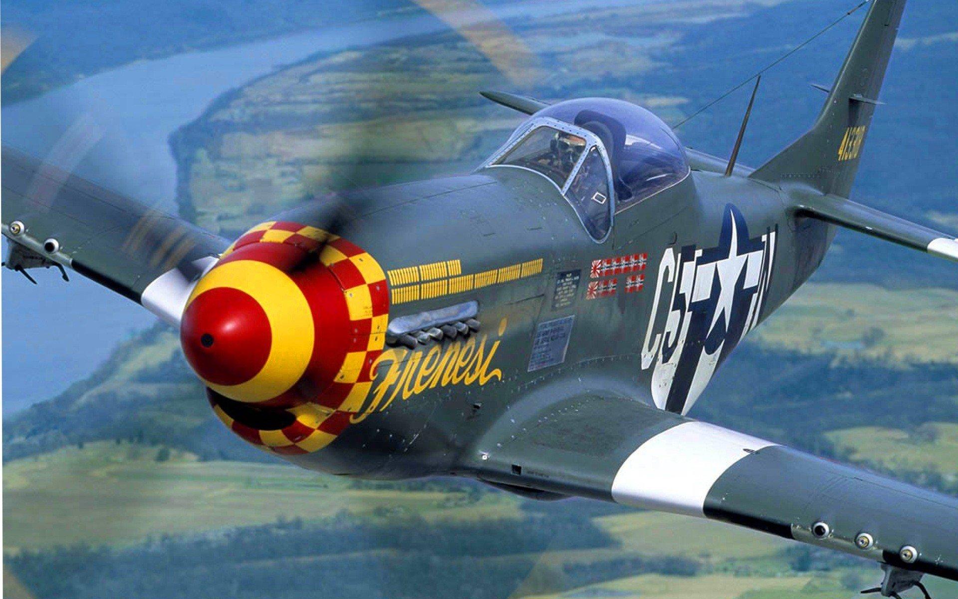 Aircraft P 51 Mustang Wallpaper 1920x1200 240745 Wallpaperup