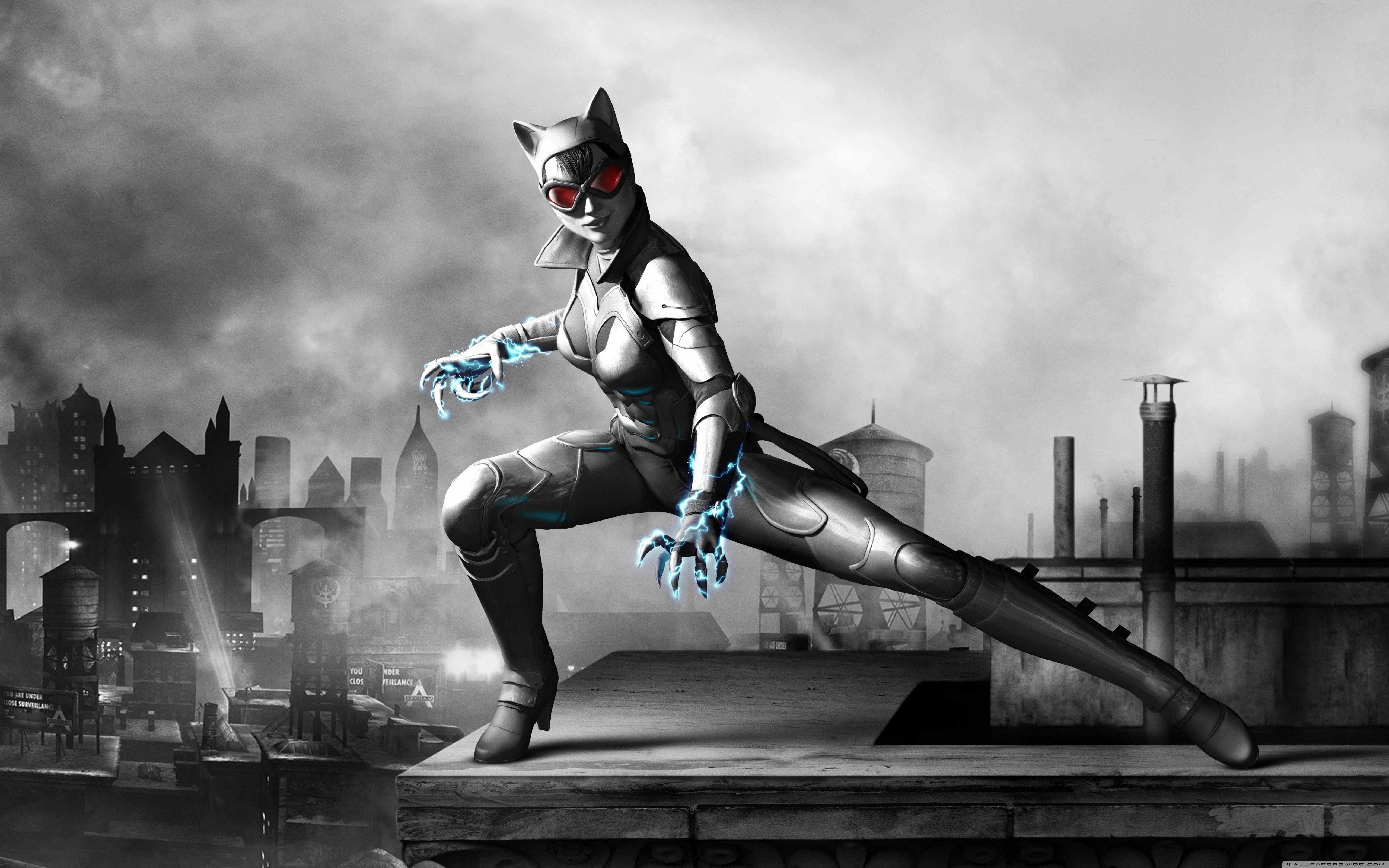 Batman arkham city armored edition catwomen-wallpaper ...