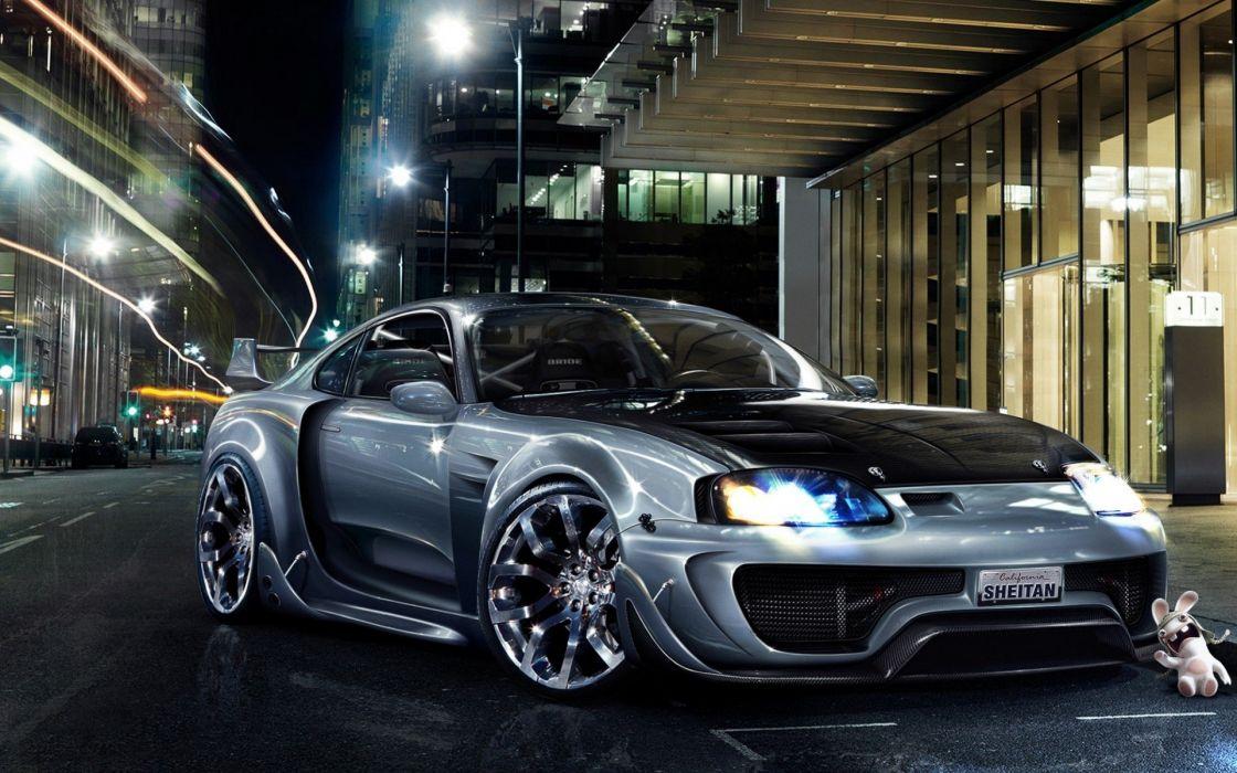 cars sports tuning Toyota Supra wallpaper