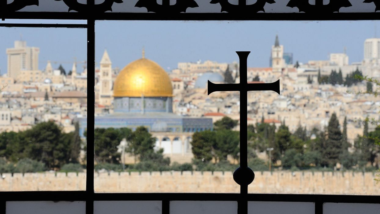 old Israel The Rock Jerusalem dome cities wallpaper
