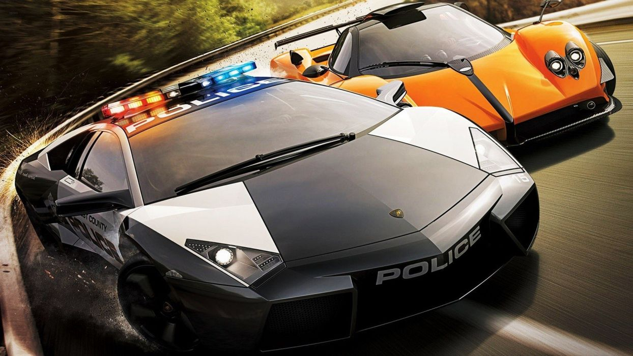 video games cars police cars Need for Speed Hot Pursuit wallpaper