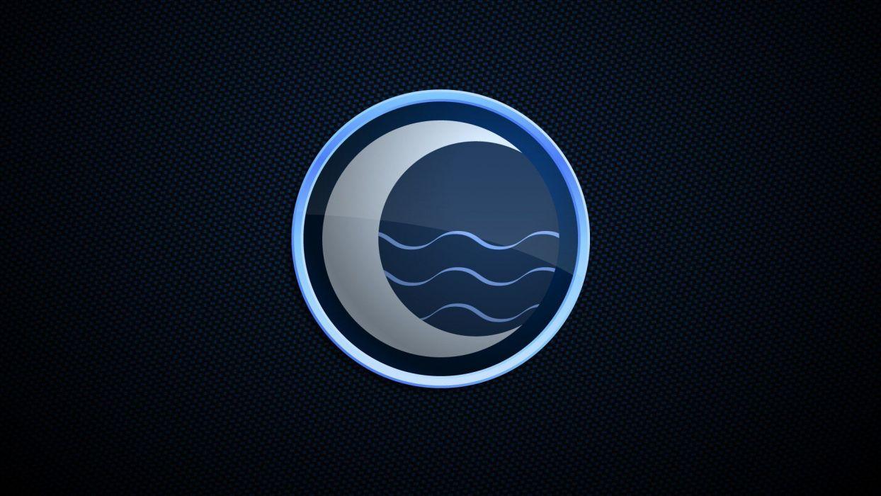Moon logos wallpaper