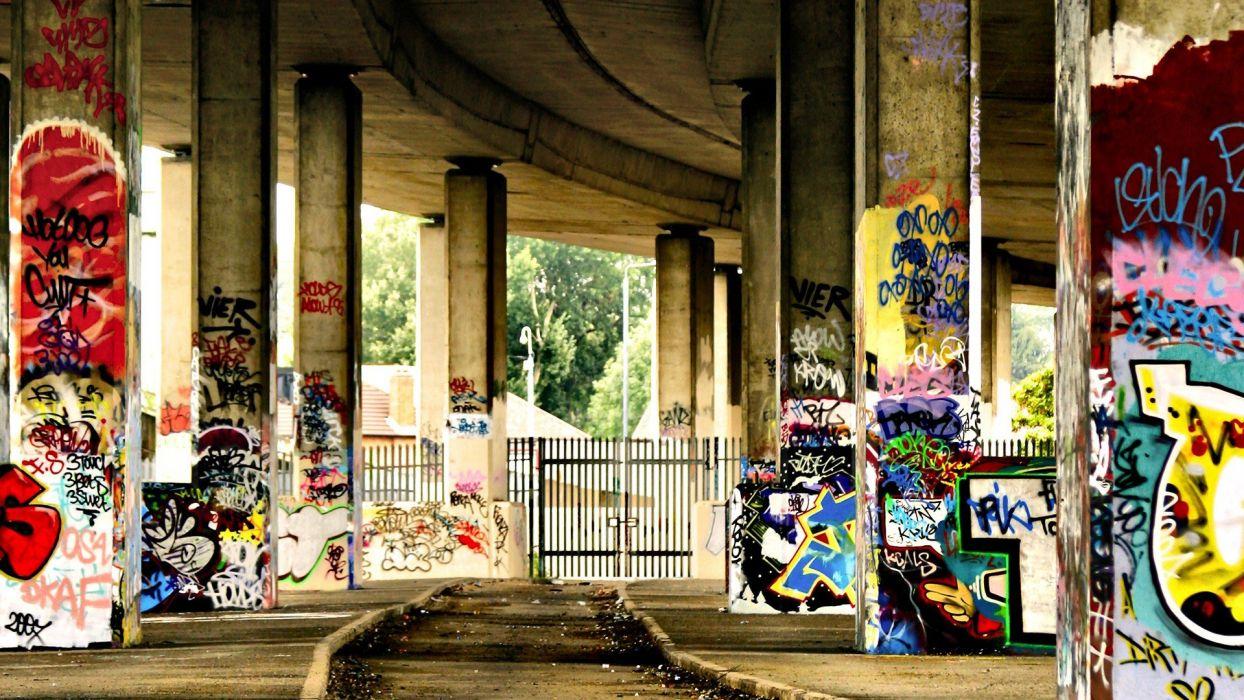 graffiti urban artwork wallpaper