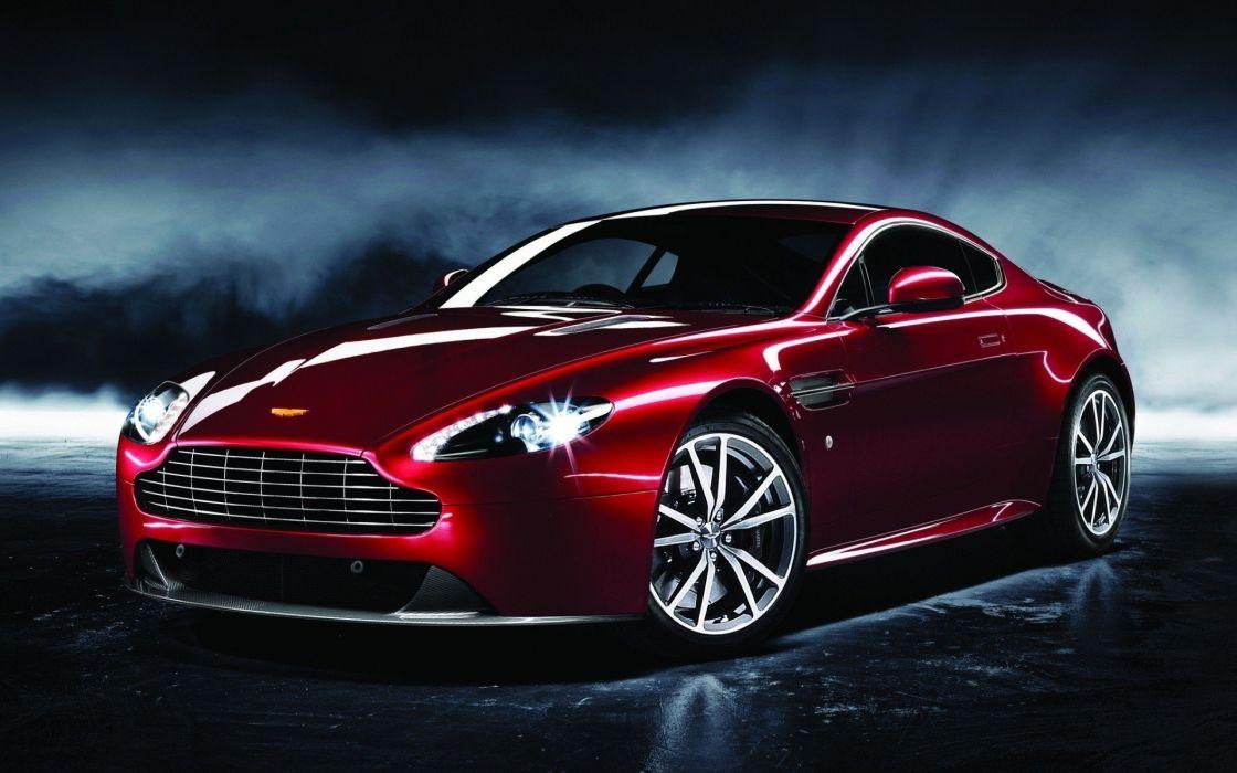 cars Aston Martin vantage red cars wallpaper