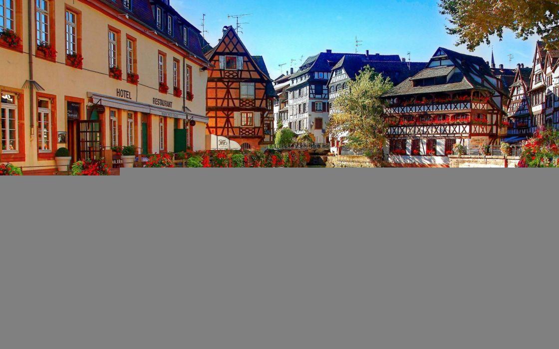 France Strasbourg wallpaper