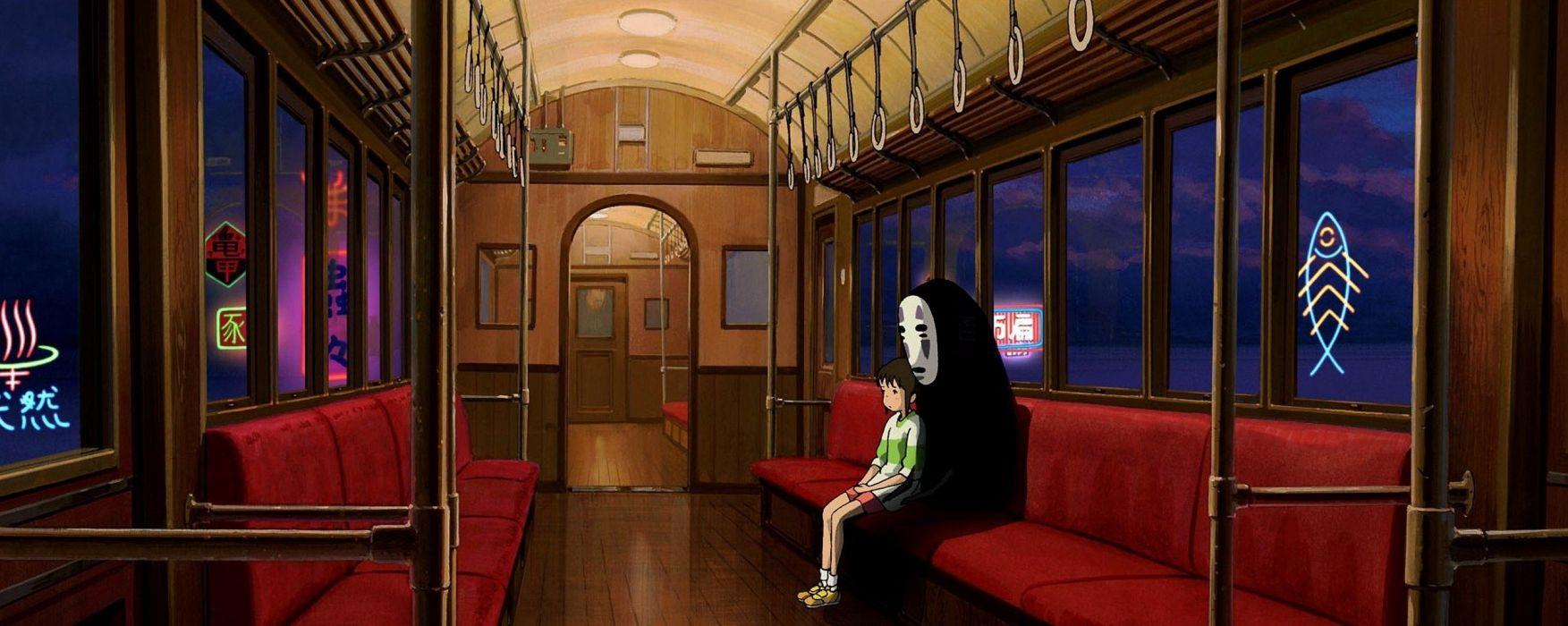 Hayao Miyazaki Spirited Away Studio Ghibli Wallpaper 2565x1024