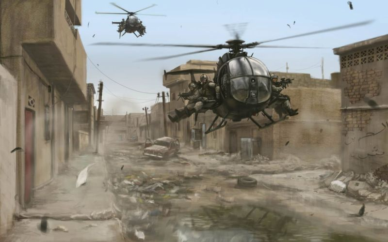 video games chopper Somalia Black Hawk Down wallpaper