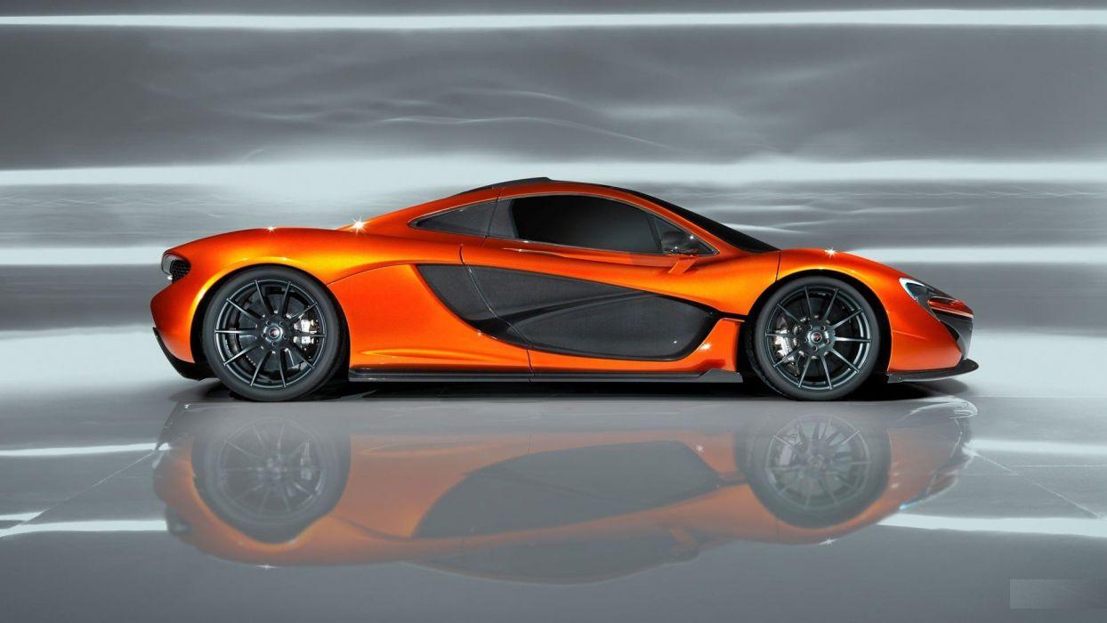 Mclaren P1 McLaren P1 Concept wallpaper