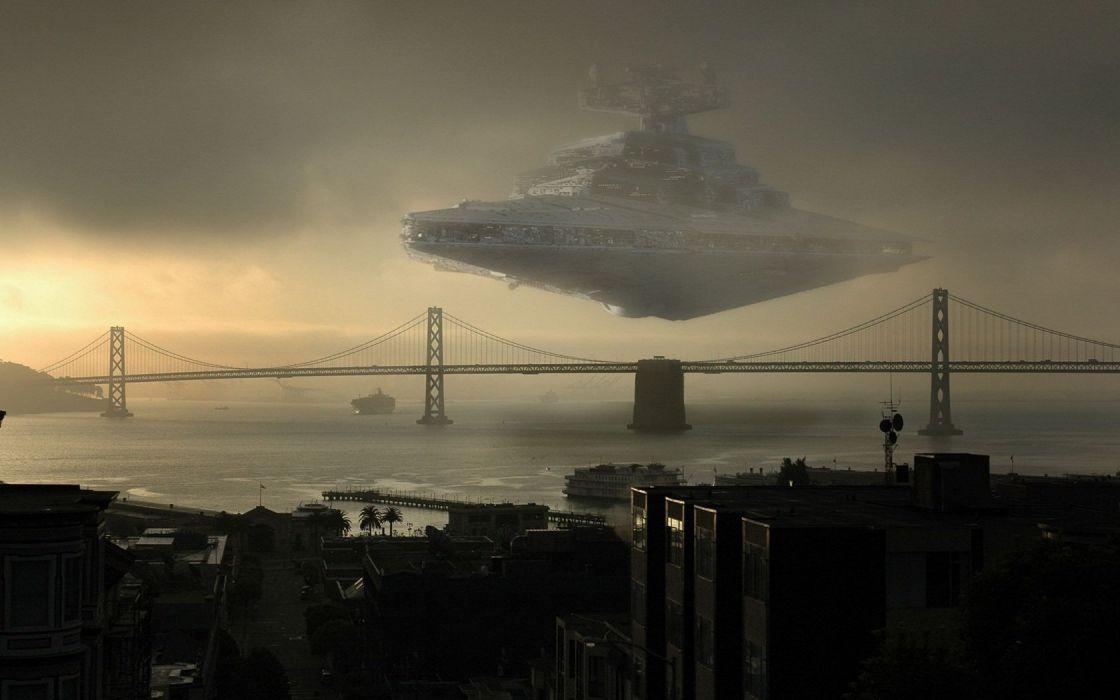 Star Wars science fiction artwork wallpaper
