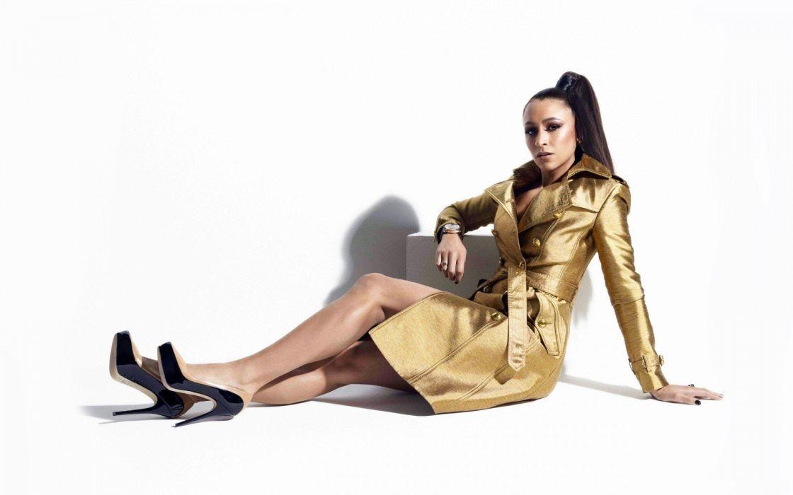 brunettes women models high heels Jessica Ennis wallpaper