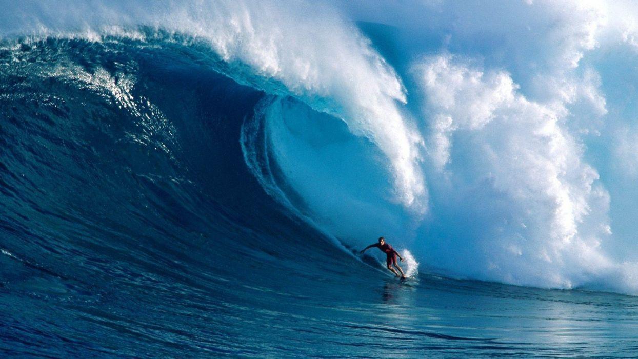 Water Ocean Waves Sports Surfing Wallpaper 1920x1080