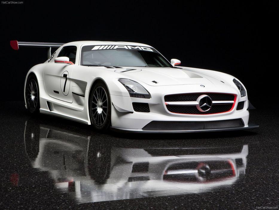 cars Mercedes-Benz sls amg gt3 Mercedes-Benz SLS AMG E-Cell wallpaper