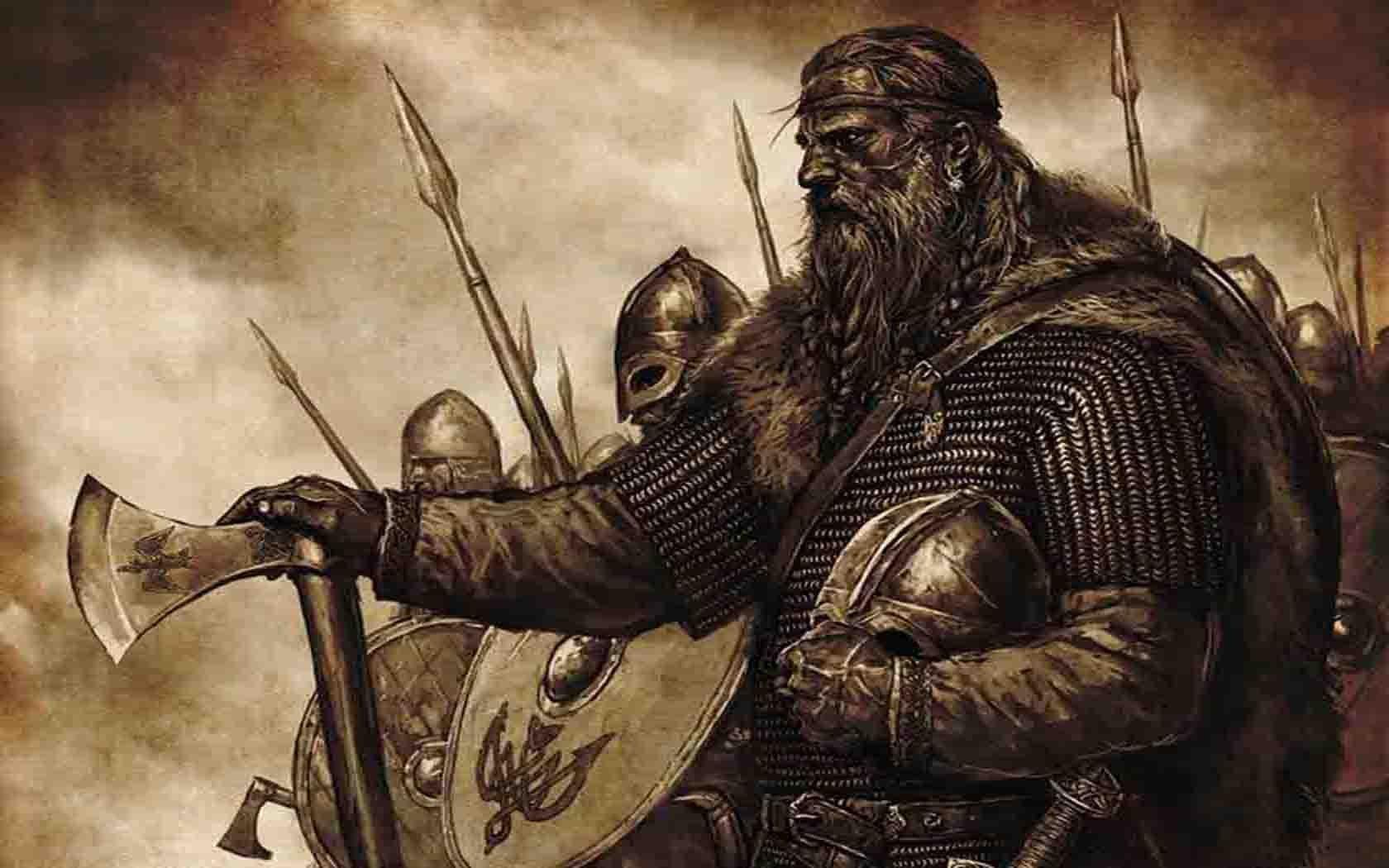 Artistic Vikings warriors wallpaper | 1680x1050 | 241019 | WallpaperUP