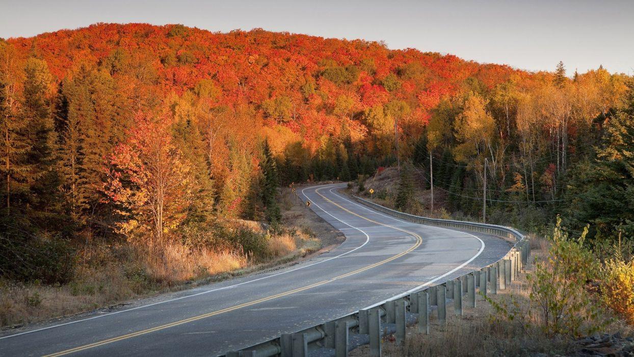 highways roads parks wallpaper