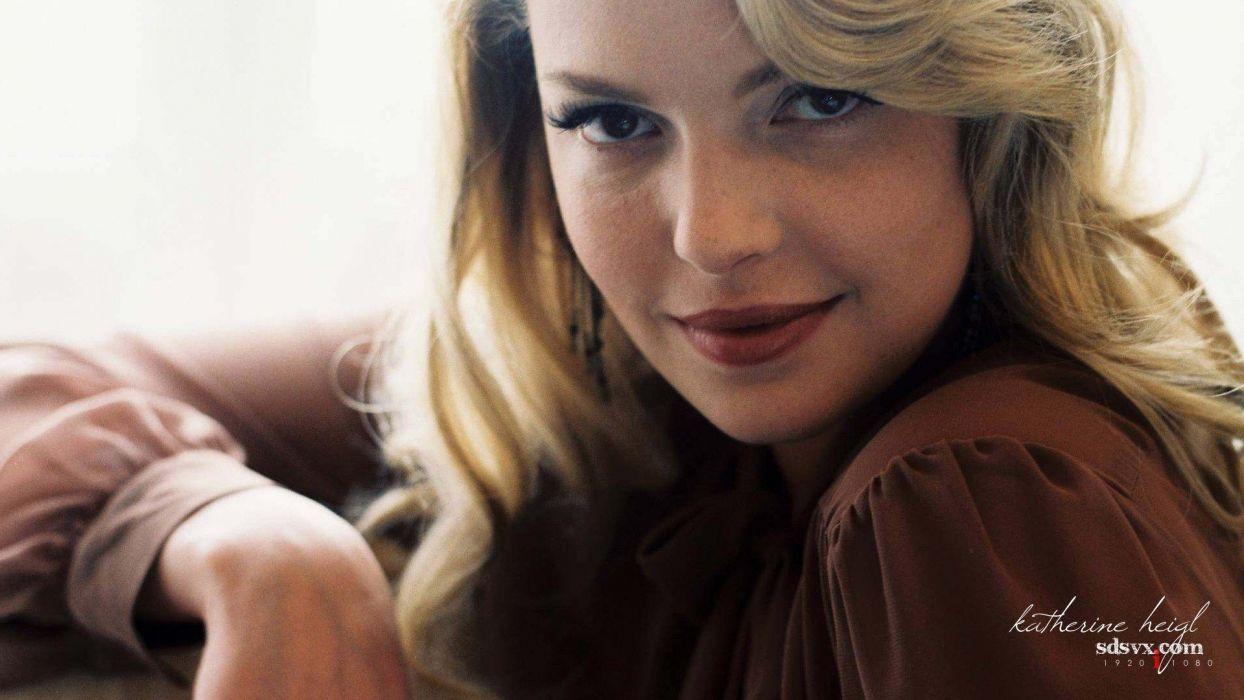 women models Katherine Heigl wallpaper