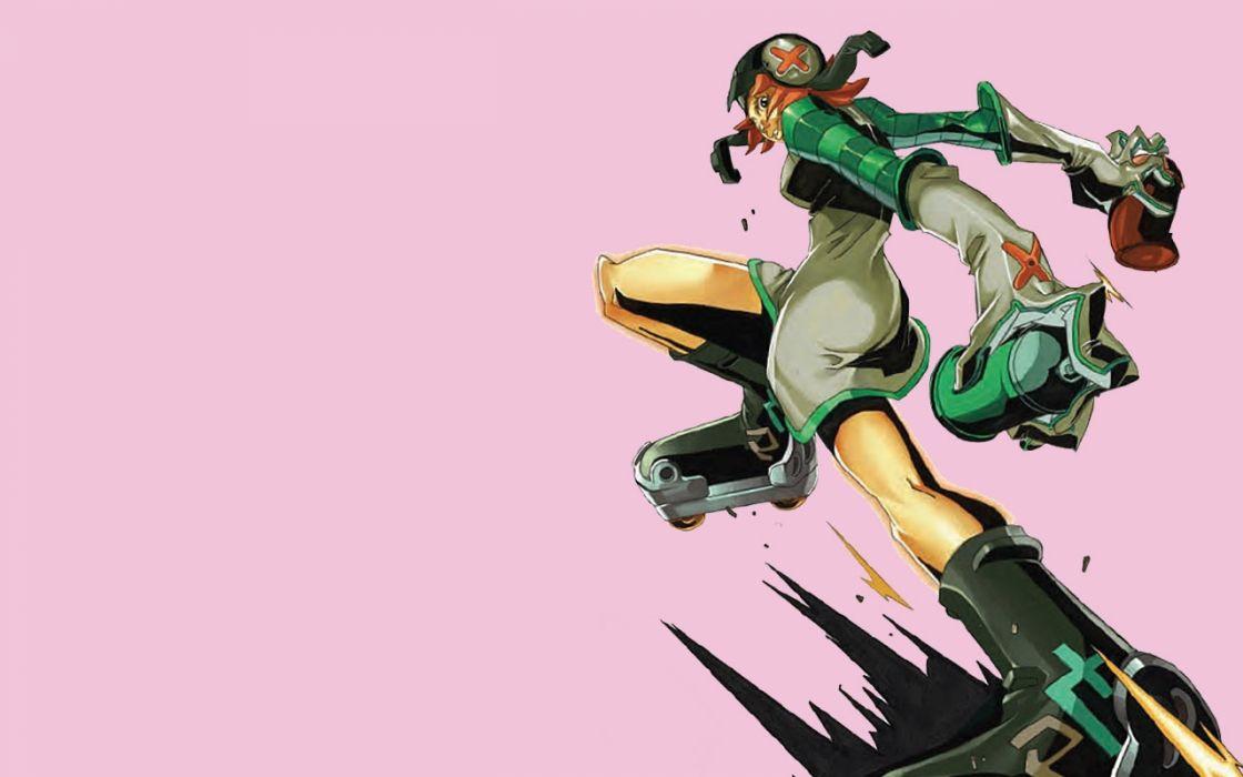 JET SET RADIO action platform sports grind sega anime game (5) wallpaper