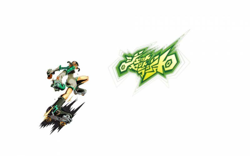JET SET RADIO action platform sports grind sega anime game (6) wallpaper