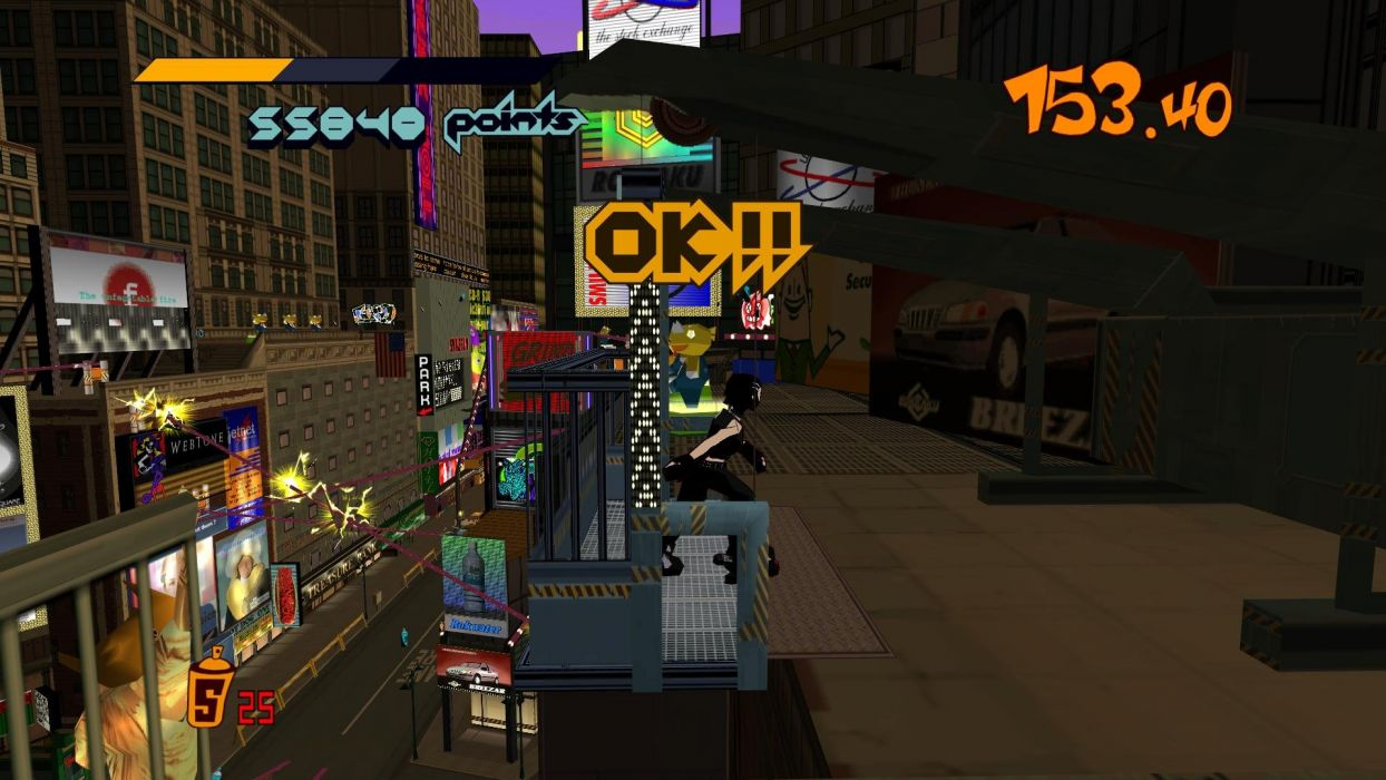 JET SET RADIO action platform sports grind sega anime game (15) wallpaper
