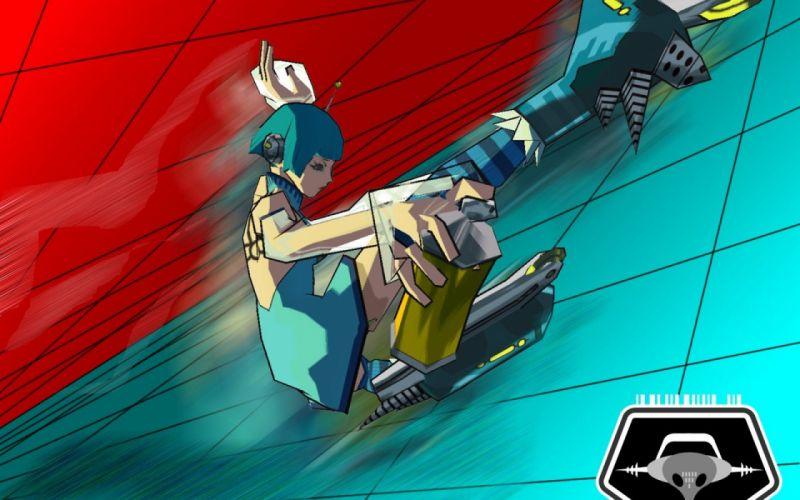 JET SET RADIO action platform sports grind sega anime game (17) wallpaper