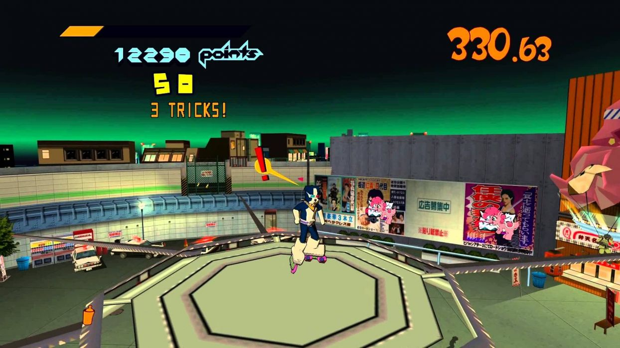 JET SET RADIO action platform sports grind sega anime game (21) wallpaper