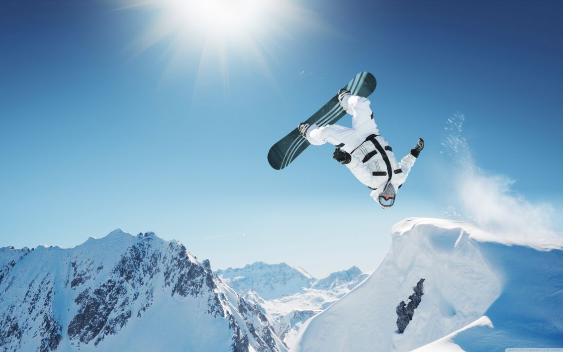 extreme snowboarding-wallpaper-3840x2400 wallpaper
